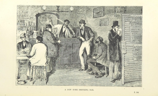 New York Drinking Bar https://www.flickr.com/photos/britishlibrary/11150876823/in/photolist-i6PE88-hZnabX-i72Rij-hTvz58-ibYBPv-hX6uaJ-i1PyY1