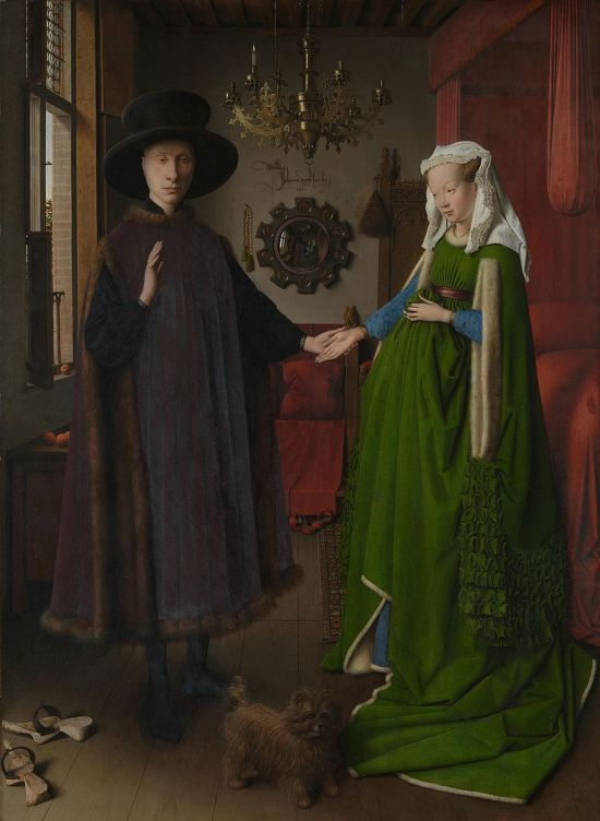 https://en.wikipedia.org/wiki/Arnolfini_Portrait