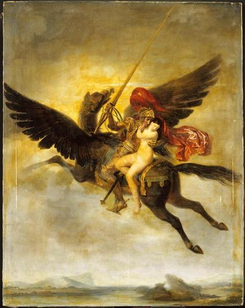 https://en.wikipedia.org/wiki/Hippogriff#/media/File:Roger_délivrant_Angélique_by_Louis-Édouard_Rioult.jpg