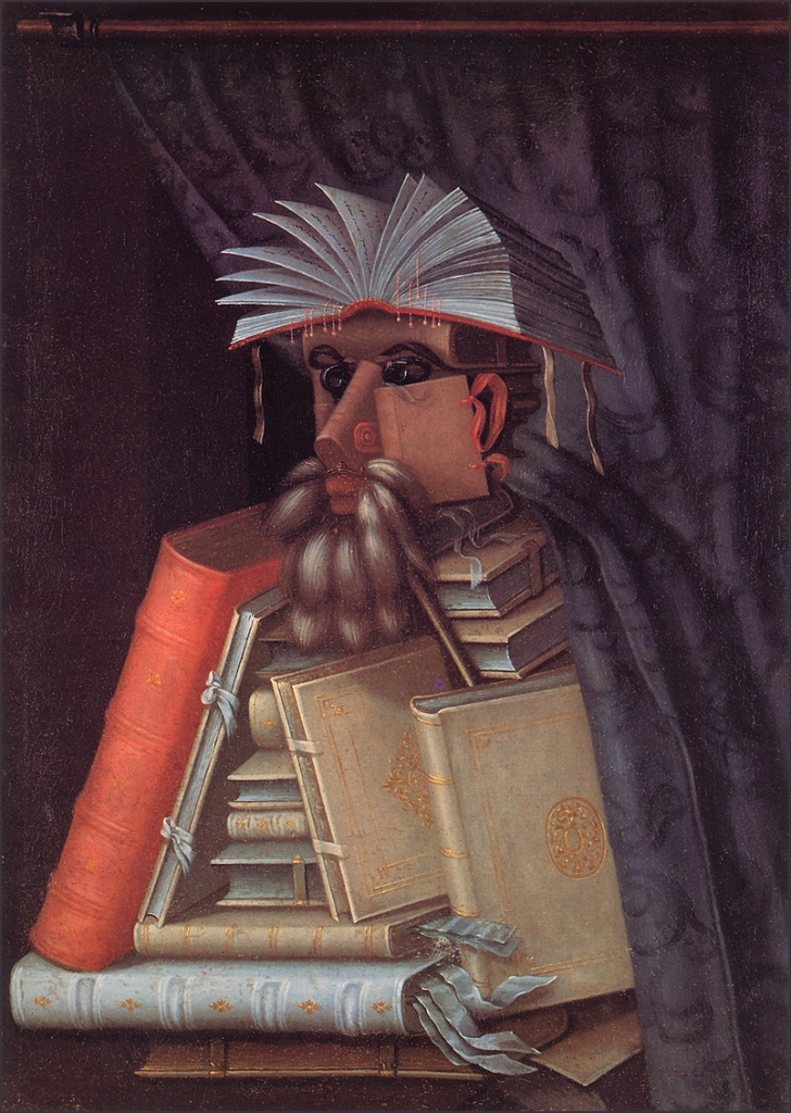← → The Librarian Giuseppe Arcimboldo