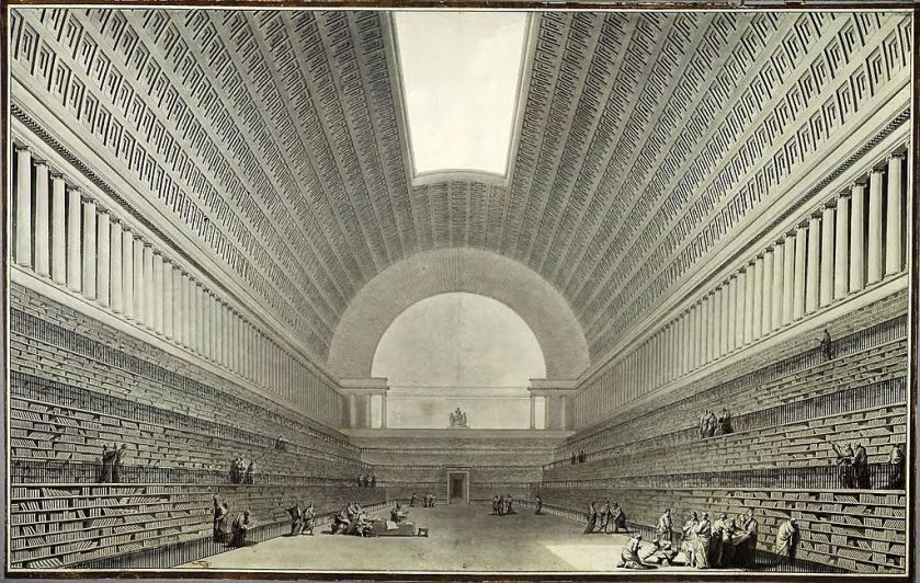 Boulle's proposed library