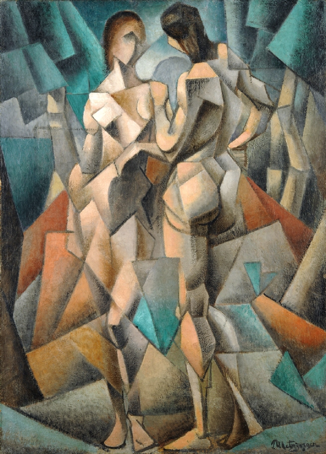 https://en.wikipedia.org/wiki/Jean_Metzinger#/media/File:Jean_Metzinger,_1910-11,_Deux_Nus_(Two_Nudes,_Two_Women),_oil_on_canvas,_92_x_66_cm,_Gothenburg_Museum_of_Art,_Sweden.jpg