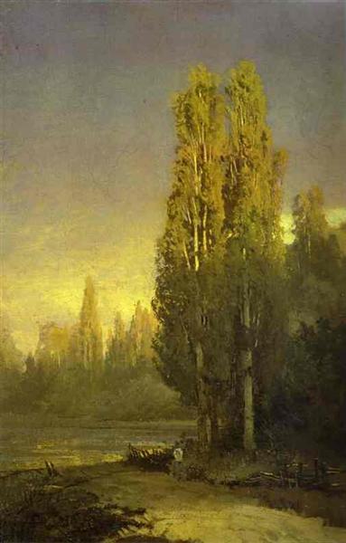 https://www.wikiart.org/en/fyodor-vasilyev/poplars-lit-by-the-sun