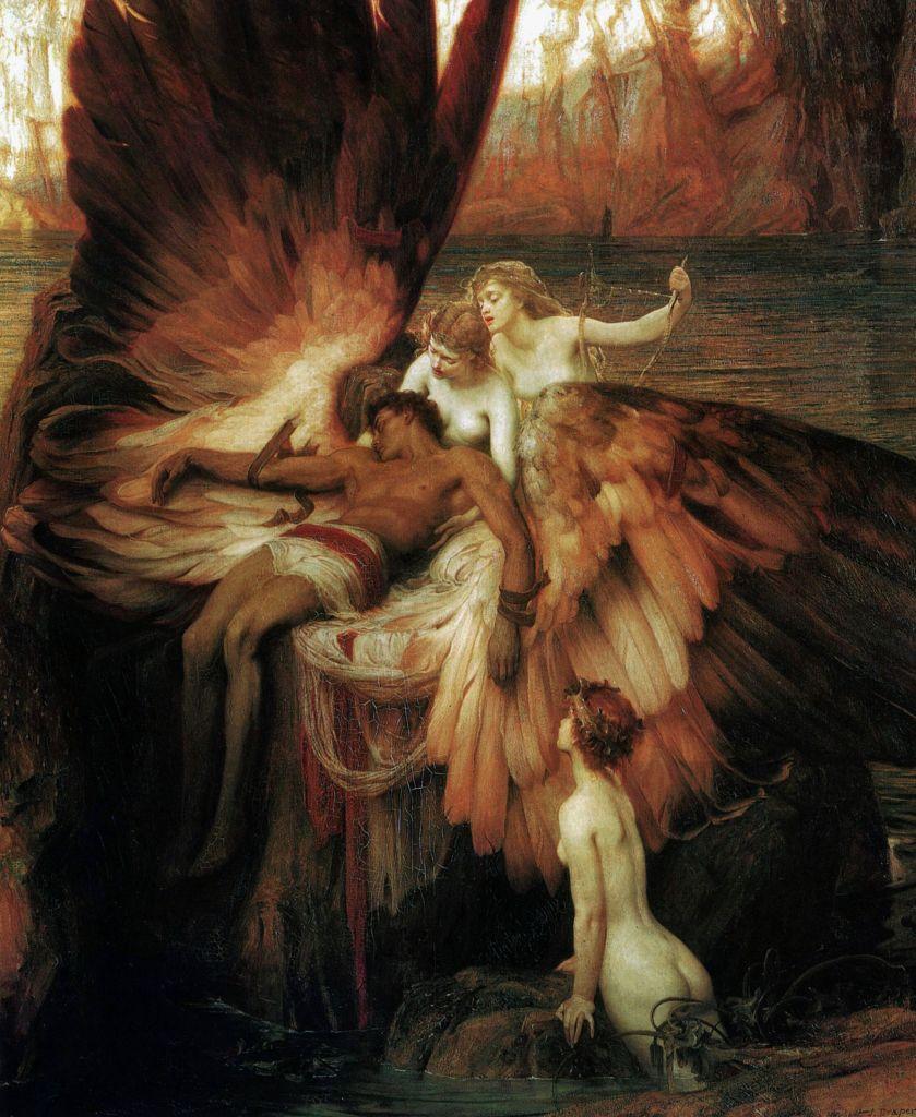 https://en.wikipedia.org/wiki/Icarus#/media/File:Draper_Herbert_James_Mourning_for_Icarus.jpg