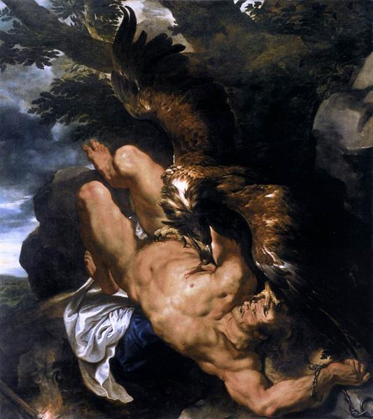 https://www.wikiart.org/en/peter-paul-rubens/prometheus-bound-1612/