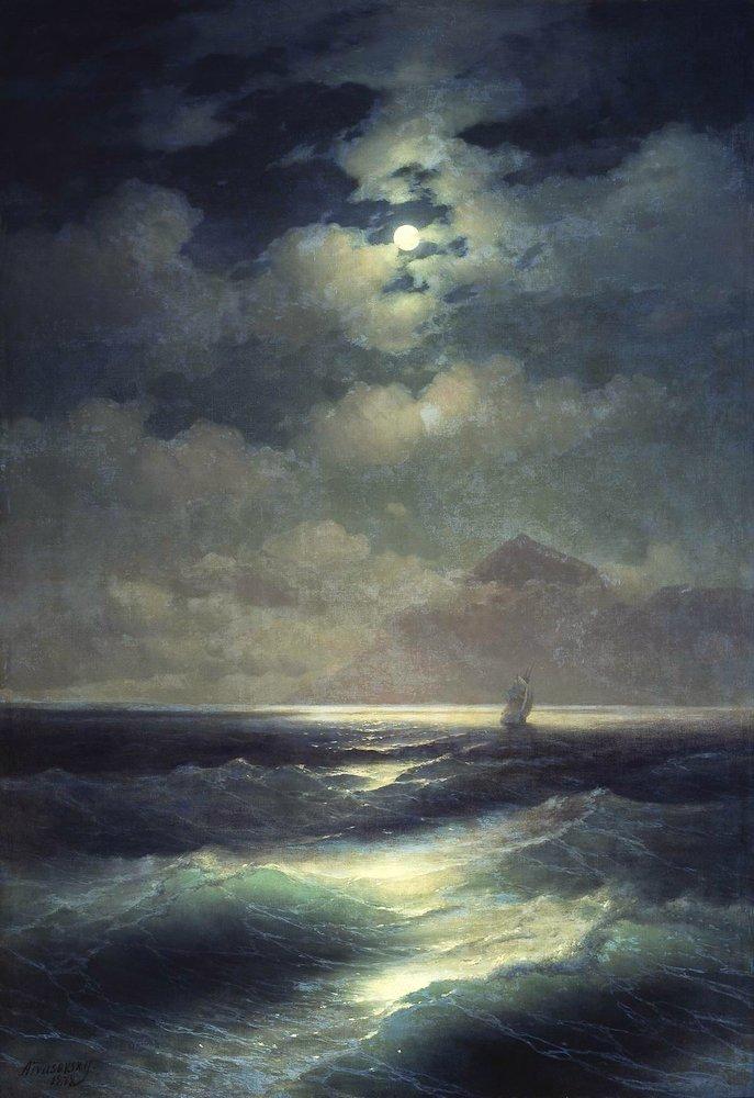 https://www.wikiart.org/en/ivan-aivazovsky/sea-view-by-moonlight-1878/