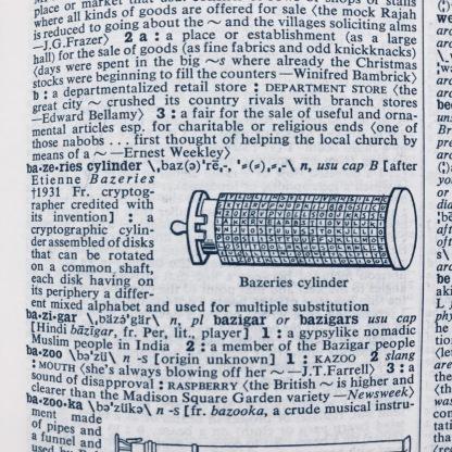 Bazeries cylinder