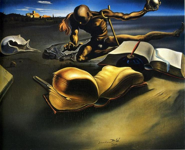 https://www.wikiart.org/en/salvador-dali/book-transforming-itself-into-a-nude-woman/