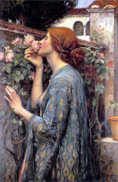 https://www.wikiart.org/en/john-william-waterhouse/a-alma-da-rosa-ou-minha-doce-rosa-1908/