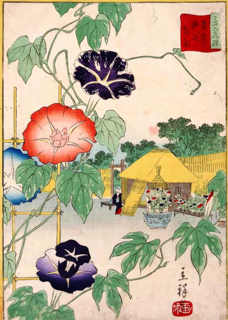 https://www.wikiart.org/en/hiroshige/morning-glory